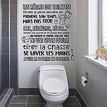 Amazon Fr Sticker Pour Les Toilettes