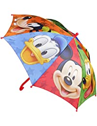 Parapluie enfant garçon disney Mickey et ses amis Rouge diamètre 84cm