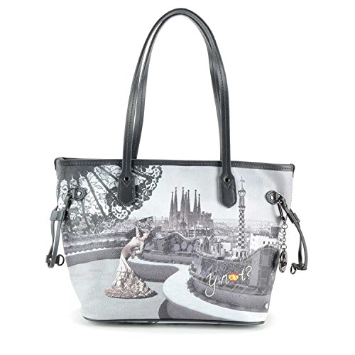 Borsa Shopping media Y Not - G336 Flamenco