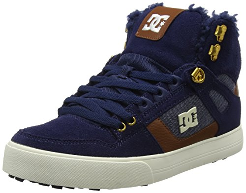 DC Shoes Herren Spartan High WC WNT Sneaker, Blau (Navy), 42 EU (High Schuhe Skate Dc)
