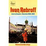 Live in Concert-Recitals 1968-1982 [Musikkassette] [Musikkassette]