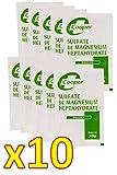 Cooper - Sulfate de Magnesium Heptahydrate en Poudre Sel d'Epsom, Cooper - 30 g - Lot de 10 Sachets