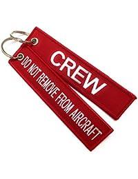 aviamart - Etiqueta para equipaje  Rojo Red