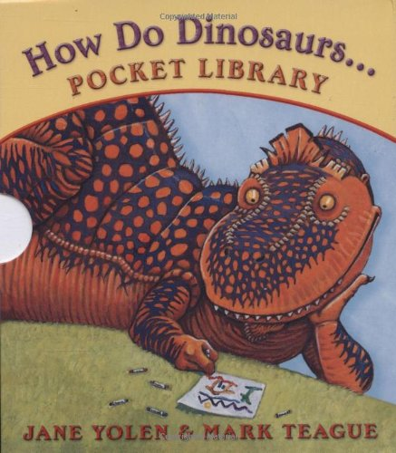 How Do Dinosaurs... Pocket Library: Clean Their Rooms/Play with Their Friends/Learn Their Colors/Count to Ten
