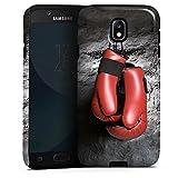 DeinDesign Samsung Galaxy J7 Duos 2017 Hülle Tough Case Schutzhülle Boxen Boxhandschuhe Fight