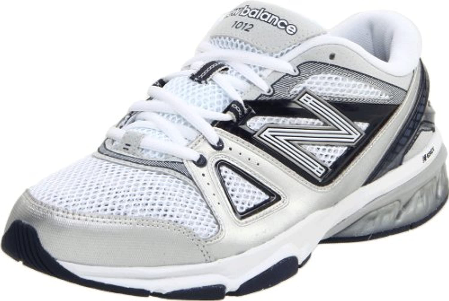 New Balance MX1012 Zapatillas De Cross-training (2E Width), color blanco, talla 40
