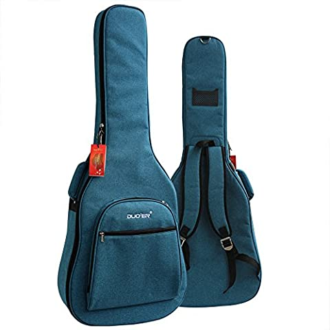 ParaCity 40 41 Inch Acoustic Guitar Waterproof Thicken Padded Bag