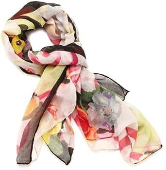 Desigual - foulard - imprimé - femme - noir (negro) - taille unique