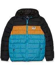 Rip Curl Color Down Jacket - Chaqueta para niño, color negro, talla 14