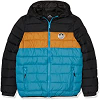 RIP CURL Color Down Jacket - Chaqueta para niño, Color Negro, Talla 14