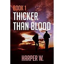 Thriller :  Crime Series Book 1 Thicker Than Blood: Mystery, Suspense, Thriller, Suspense Crime Thriller, Murder (A gripping serial killer thriller) (English Edition)