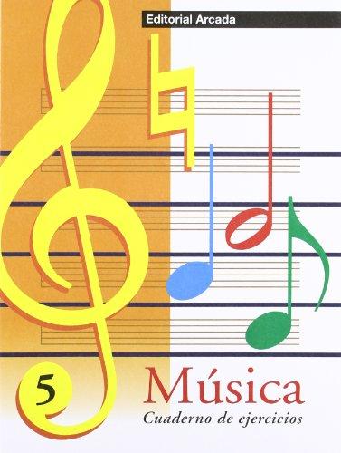 Música. Cuaderno De Ejercicios 5 (Musica) por Marta Figuls Altes