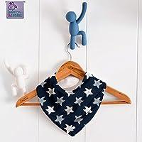Babero bandana Estrellas de mar, para bebés, niños o adultos con necesidades especiales. ***Envío gratuito a España***