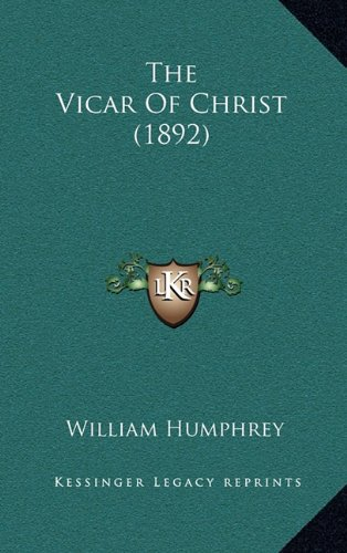 The Vicar of Christ (1892)