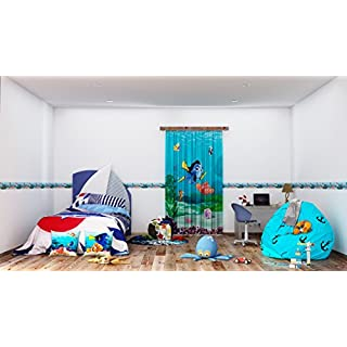 Disney Dory Self-Adhesive Wall Border, PVC Multi-Colour, 0.14 x 5 m/5.5 x 197-Inch