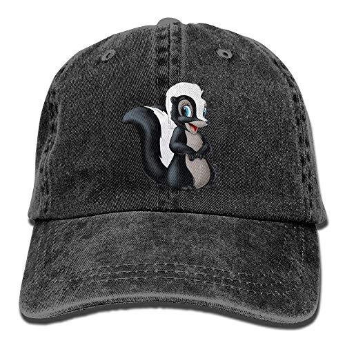 LINGVYTE Funny Cartn Skunk Fashion Denim Baseball Adjustable Caps Hats (Skins Skunk)