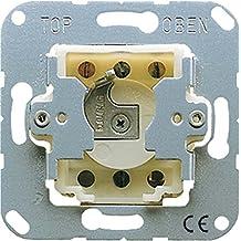 Jung 133.18 - Mecanismo pulsador conmutador a llave para persiana