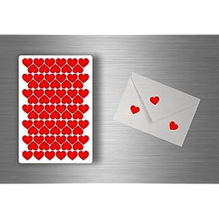 Akacha Set 72x Sticker Scrapbooking Stickers Scrapbook DIY Heart Cardâ€