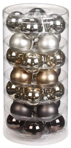 Inge-glas 15090D002 - Bolas de Navidad, 45mm, 28 unidades, colores variados en...