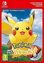 Pokémon: Let's Go, Pikachu! | Nintendo Switch - Codice down