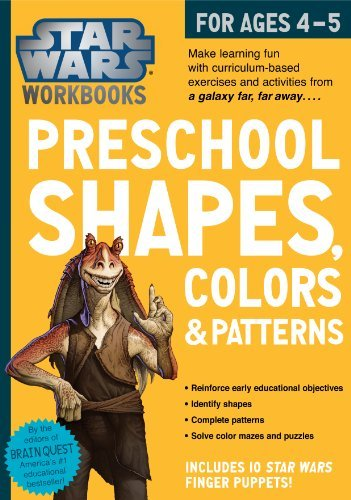 Star Wars Workbook: Preschool Shapes, Colors, and Patterns by Workman Publishing (2014-06-17) par Workman Publishing