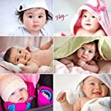 Craft Qila KARTMEN Cute Baby's Boy Poster for Pregnant Women (200 GSM Paper, 12x18 Inches Each, Multicolour) -Combo Set of 6