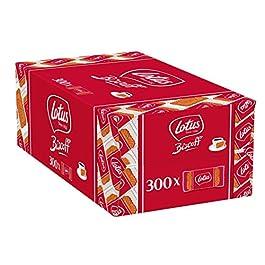 Lotus Biscoff Biscotto al Caramello, Caffè Biscotto Biscottino Impacchettati Singolarmente 300 pz.