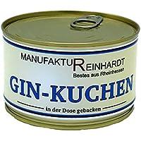 Manufaktur Reinhardt GIN Kuchen in der Dose gebacken 200g