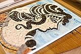 Idea Regalo Originale Natale/Compleanno: Arianna Danzatrice Greca - kit mosaico d'Arte - Tessere di mosaico in marmo - Hobby creativi