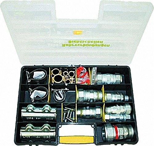 GEBO Umbausatz für Temperguss- klemmverbinder- 3-teilig- für Siederohr 31-8mm