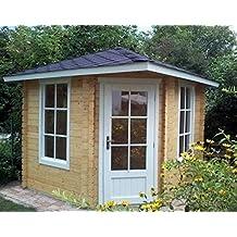 AL Wood Ltd - Cabaña de Madera para Verano (2,6 x ...