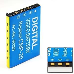 Sellway Batterie de QUALITé remplacement batterie pour Casio Exilim EX-Z75 EXZ75 ex Z75 NP-20 NP20
