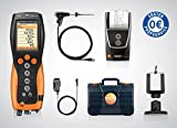Abgasmessgerät testo 330-2 LX Jubiläums-Set 1 - inklusive erstem Service und Kleinschmidt GmbH Smartphonehalter
