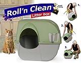 Katzentoilette Sageking Roll n Clean braun/grau braun/grau