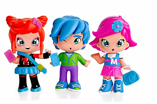 PINY - Pack de 3 figuritas Michelle, Rita y Sam (Famosa 700014144)