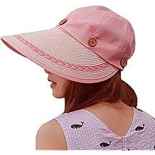 Sidiou Group Sombrero de vaquero vacío vacía del verano con el sombrero de  paja plegable del 70fe5a4489c