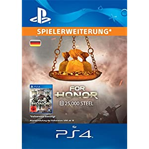 FOR HONOR: 25000 STAHL-Paket [PS4 Download Code – deutsches Konto]
