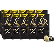 L'OR Espresso Coffee Ristretto Intensity 11 - Nespresso®* Compatible Aluminium Coffee Capsules - 8 packs +