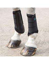 Shires Calzado de Protección para Hombre Negro Negro Pony