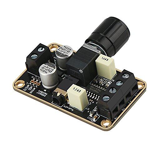 Droking Audio Verstärkerplatine, PAM8406 Digitale Endstufe 5W + 5W Immersion Gold Stereo Amp 2.0 Zweikanal Mini Klasse D DC5V Verstärker DIY Schaltung Modul für Bücherregal Boden Lautsprecher -