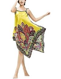 Amazon.co.uk  Yellow - Nightdresses   Nightshirts   Nightwear  Clothing 694f393ee