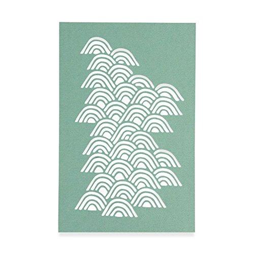 Sizzix Wellen von Sharon Drury Thinlits sterben, Carbon Stahl, Mehrfarbig, 26x 13x 0,2cm