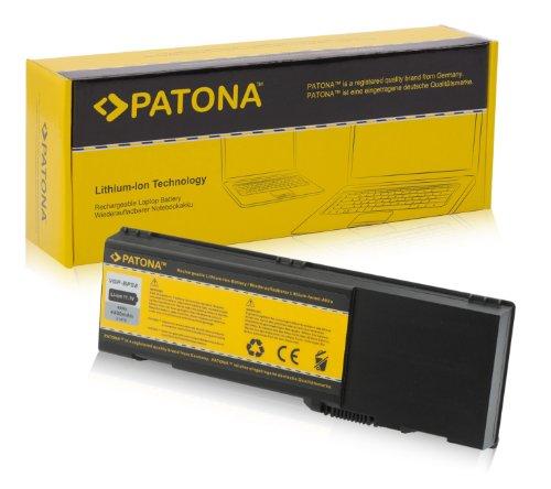 PATONA Laptop Akku für DELL Inspiron 1501 | E1501 | E1505 | E1705 | XPS M1710 | XPS M170 | XPS Gen 2 - Latitude 131L - Precision M90 - [ Li-ion; 4400mAh; schwarz ] - Akku E1505