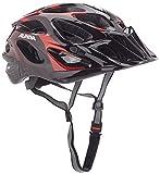 ALPINA Radhelm Thunder Rennrad-Helm, Red/Black, 52-57
