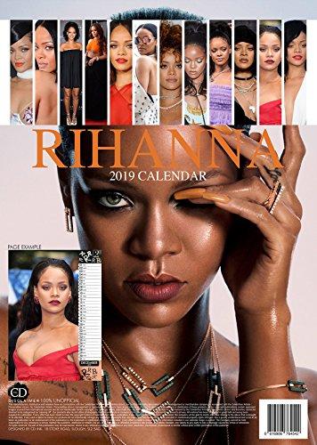 Rihanna Rhianna Calendrier 2019Affiche de taille Grande (A3) Calendrier mural NEUF ET usine fermé par OC (avec un cadeau de Noël gratuit à partir du 1er novembre)