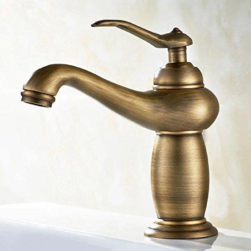 PHA-MACY, heißer und kalter Beckenhahn, Badezimmer mit goldenem Wasserhahn, Küche,Der Stil der alten shorts