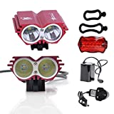 CDC® Waterproof 5000 Lumens XM-L U2 LED Bicycle Light 4 Modes Super Bright