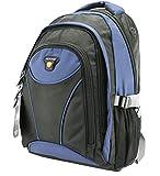 Rucksack, Schulrucksack, Sporttasche, Freizeitrucksack, City Rucksack, Arbeit, Sport, Schule, Uni, Freizeit (Blau)