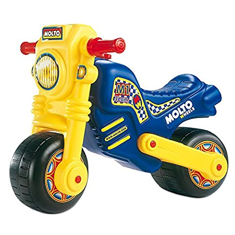 Rutsch Motorrad mit breiten Reifen, dient als Lauflernhilfe für die Kleinen, 63 cm, geeignet für Innen und Außen, Robust, Lauflernrad fürs Gleichgewicht, Kinder Bike, Laufrad Roller ab 18 Monaten