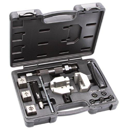 Mobiles hydraulisches Bördelgerät für Bremsleitungen